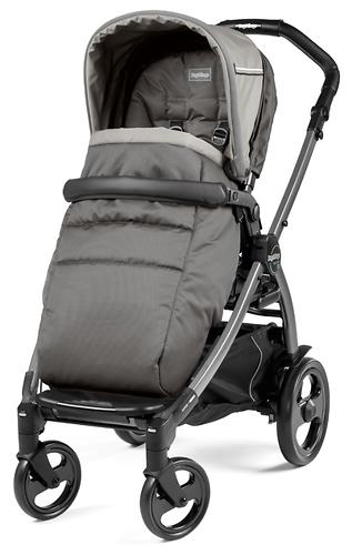 Коляска 3в1 Peg-Perego Book 51 Titania Pop Up Modular Class Beige (10)