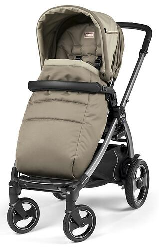 Коляска 3в1 Peg-Perego Book 51 S Titania Pop Up Modular Class Beige (10)