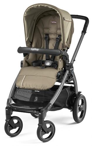 Коляска 3в1 Peg-Perego Book 51 S Titania Pop Up Modular Class Beige (9)