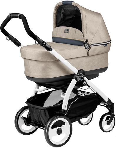 Коляска 3в1 Peg-Perego Set Modular Pop Up на шасси Book 51 Black/White Luxe Beige (8)