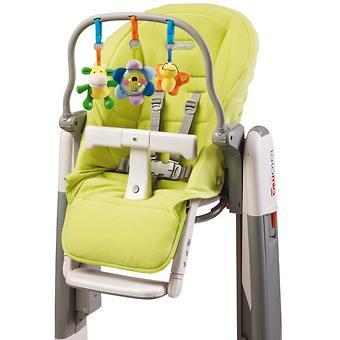 Чехол и дуга с игрушками на стульчик Peg Perego Tatamia Verde - Minim