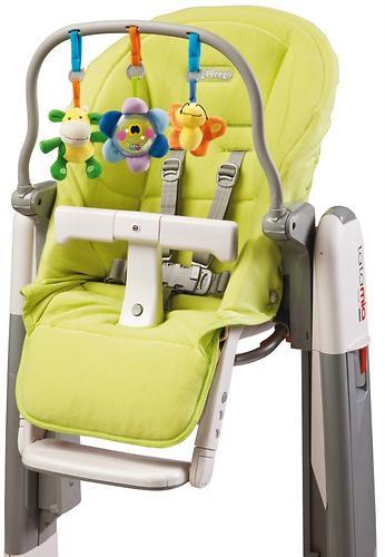 Чехол и дуга с игрушками на стульчик Peg Perego Tatamia Verde (3)
