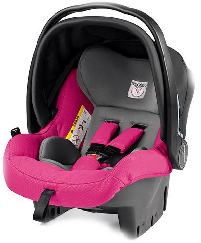 Автокресло Peg-Perego Primo Viaggio SL Tri-fix Bloom Pink (3)