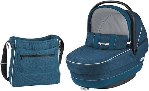 Люлька с сумкой Navetta XL + Borsa Saxony blue (8)
