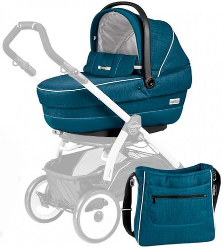 Люлька с сумкой Navetta XL + Borsa Saxony blue (9)