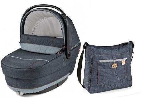Люлька с сумкой Navetta XL + Borsa Blue Denim (6)