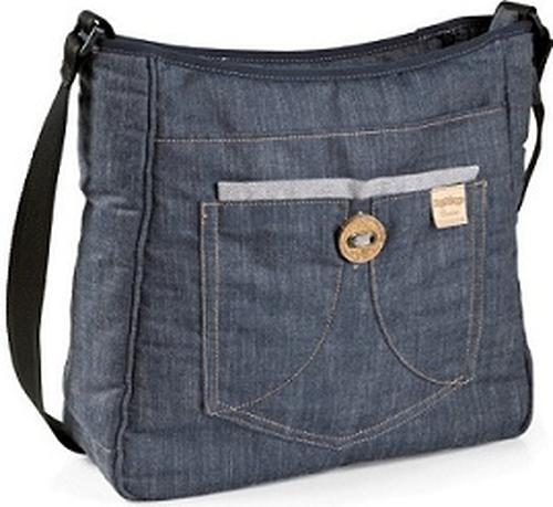 Люлька с сумкой Navetta XL + Borsa Blue Denim (10)