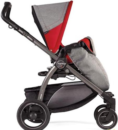 Коляска Peg-Perego Book Plus Pop Up на шасси Book Plus Black-Gray цвет Tulip (9)