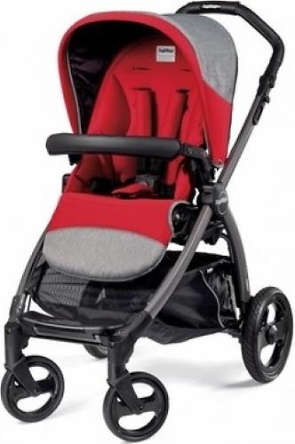 Коляска Peg-Perego Book Plus Pop Up на шасси Book Plus Black-Gray цвет Tulip (6)