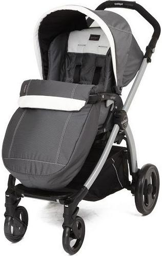 Коляска Peg-Perego Book Plus S Completo на раме Book Plus S Jet Black Ascot (3)