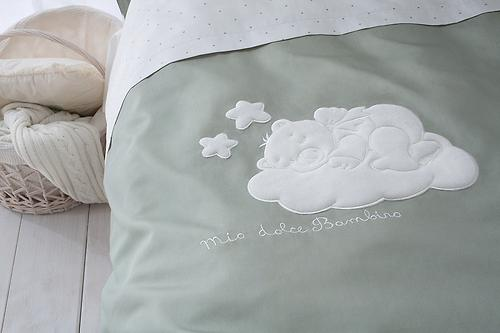 Комплект в кроватку Perina Бамбино 4 предмета Олива (5)