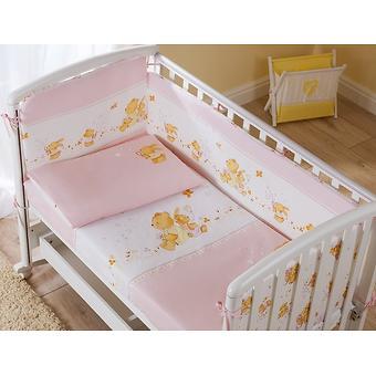 Постельное белье Perina Фея Лето розовое 4 предмета - Minim