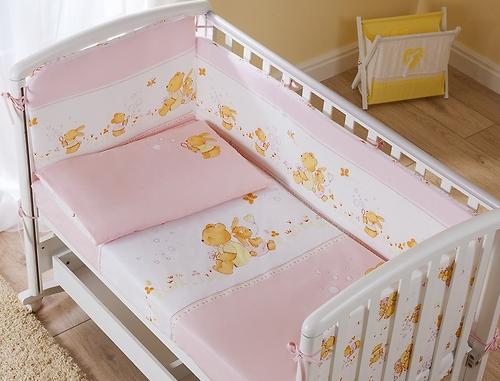Постельное белье Perina Фея Лето розовое 3 предмета (3)