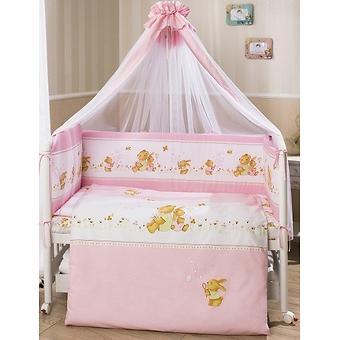 Постельное белье Perina Фея Лето розовое 7 предметов - Minim