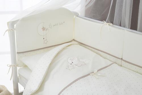 Постельное белье Perina Le Petit Bebe Молочно-кофейный 4 предмета (3)