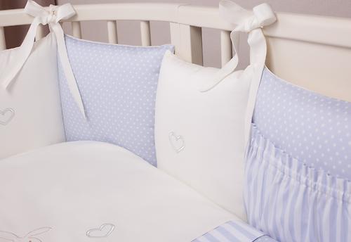 Комплект в кроватку Perina Неженка Oval 7 предметов НО7.4-125х65 Голубой (8)