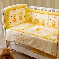 Постельное белье Perina Ника Мишка на подушке бежевый 3 предмета