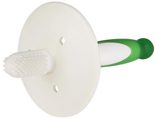 Зубная щетка Pigeon с фиксатором 6+ мес Зеленая (7)
