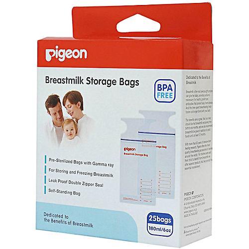 Пакеты для заморозки грудного молока Pigeon 180 мл 25 шт (3)