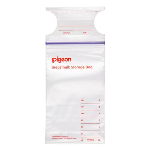 Пакеты для заморозки грудного молока Pigeon 180 мл 25 шт (4)