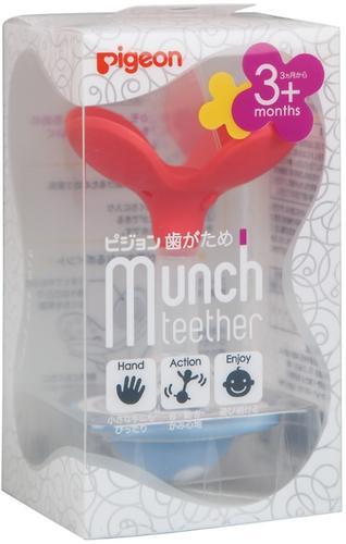 Прорезыватель-погремушка Pigeon Munch teether 3+мес (6)