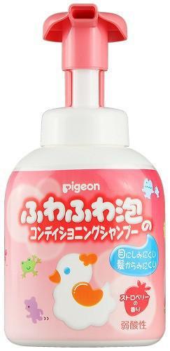 Шампунь-пенка Pigeon для детей 350 гр с 18+ (4)