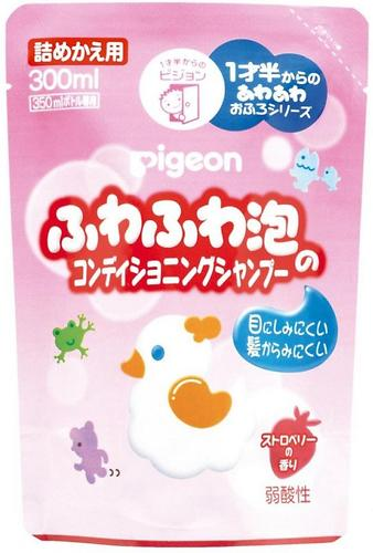 Шампунь-пенка Pigeon 18+ 300 мл сменный блок (1)