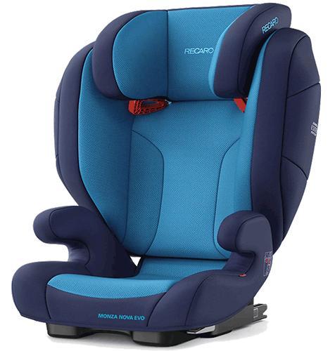 Автокресло Recaro Monza Nova Evo Seatfix Xenon Blue (6)