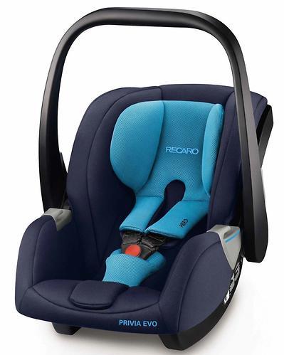 Автокресло Recaro Privia Evo (Group 0+) Xenon Blue (7)