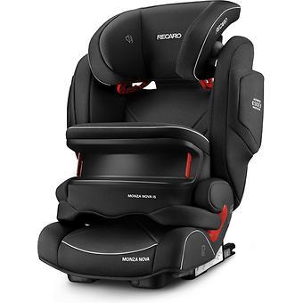 Автокресло Recaro Monza Nova IS Seatfix Performance Black - Minim
