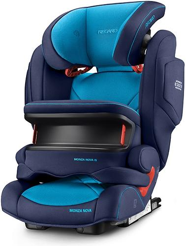 Автокресло Recaro Monza Nova IS Seatfix Xenon Blue (18)