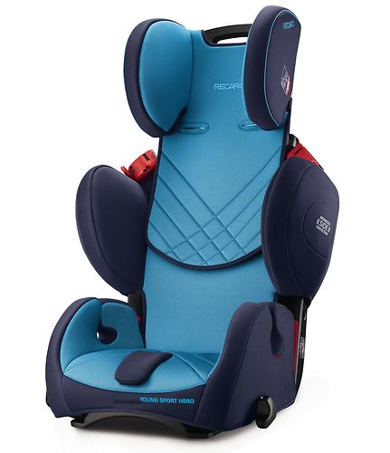 Автокресло Recaro Young Sport Hero Ruby (11)