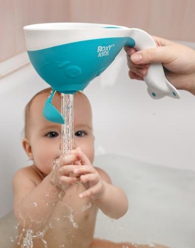 Ковш для ванны Roxy Kids с лейкой Оранжевый (14)