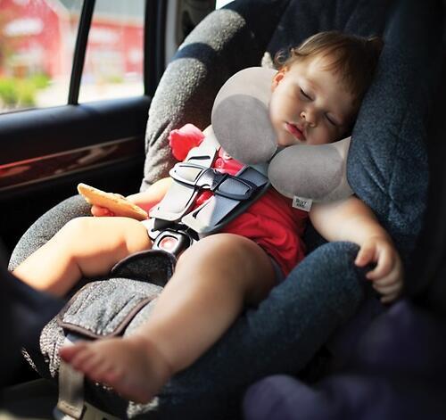 Подушка Roxy Kids для автокресел от 1 года до 3-х лет Бежевая (6)