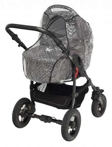 Дождевик Roxy Kids на коляску универсальный со светоотражателем в сумке (7)