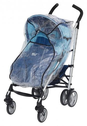 Дождевик Roxy Kids на коляску универсальный со светоотражателем в сумке (8)