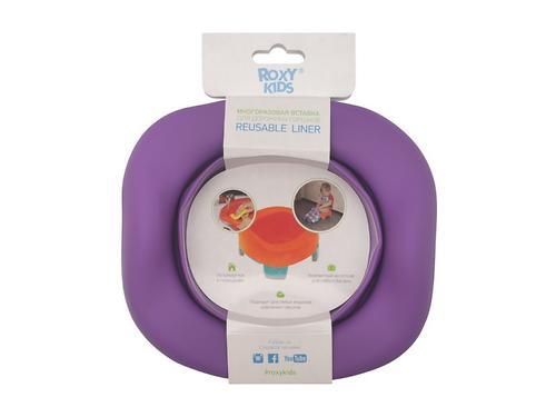 Универсальная вкладка Roxy kids для дорожных горшков Фиолетовая (10)