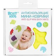 Мини-коврики для ванны Roxy Kids в ассортименте 4 шт/уп