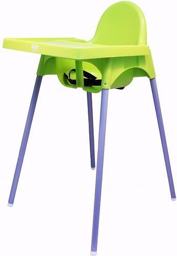 Стульчик для кормления Roxy Kids Fiesta Зеленый с вкладкой Горошек с разборными ножками (12)