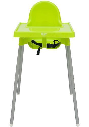 Стульчик для кормления Roxy Kids Fiesta Зеленый с вкладкой Горошек с разборными ножками (13)