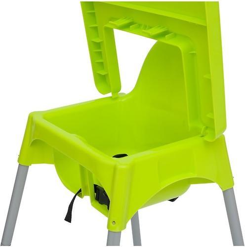Стульчик для кормления Roxy Kids Fiesta Зеленый с вкладкой Горошек с разборными ножками (17)