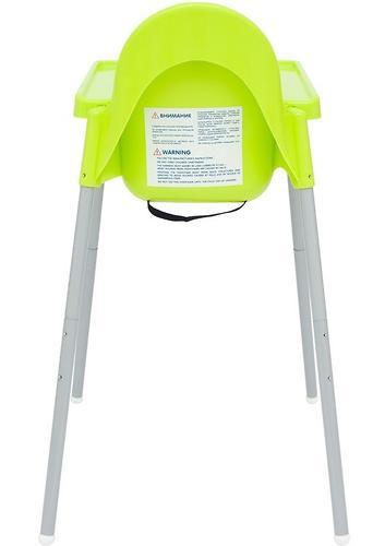 Стульчик для кормления Roxy Kids Fiesta Зеленый с вкладкой Горошек с разборными ножками (14)