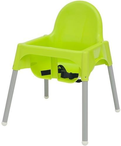 Стульчик для кормления Roxy Kids Fiesta Зеленый с вкладкой Горошек с разборными ножками (16)