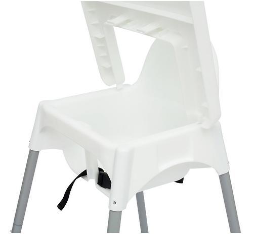 Стульчик для кормления Roxy Kids Fiesta Белый с вкладкой Перышки с разборными ножками (18)