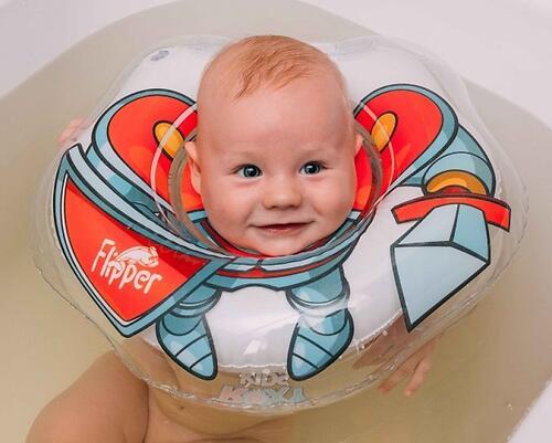Круг на шею Roxy Kids Flipper для купания Рыцарь (10)