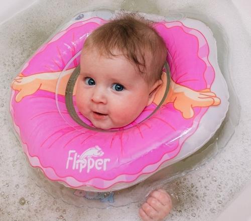 Круг на шею Roxy Kids Flipper для купания Балерина (10)