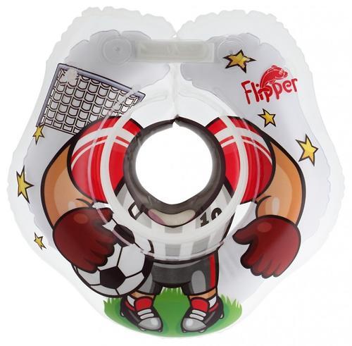 Круг на шею Roxy Kids Flipper для купания малышей Футболист (7)