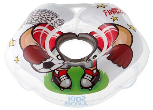 Круг на шею Roxy Kids Flipper для купания малышей Футболист (8)