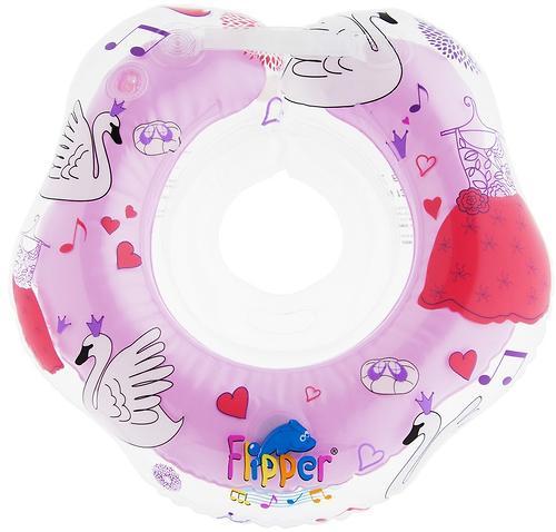 Круг на шею Roxy Kids Flipper Swan Lake Music розовый (11)