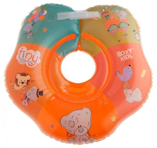 Надувной круг на шею Roxy Kids для купания малышей Teddy Circus (7)